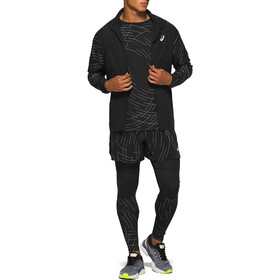 asics Night Track Mallas Hombre, night track black